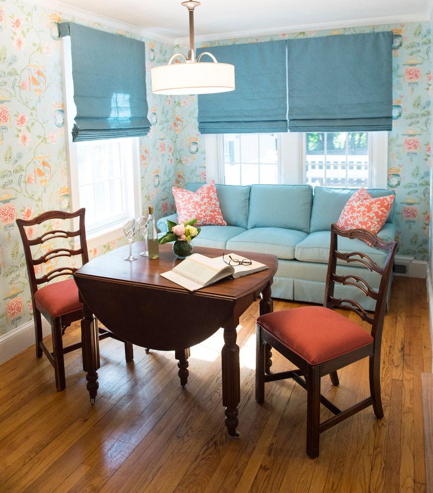 Голубая спальня – идеальное воплощение романтики!