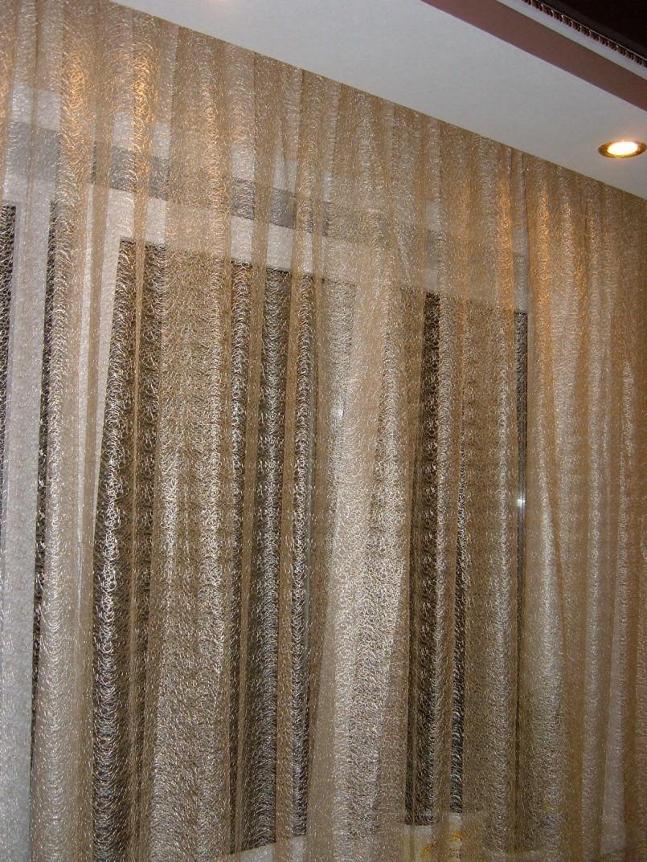Примеры тюля с вышивкой на сетке (7 фото)