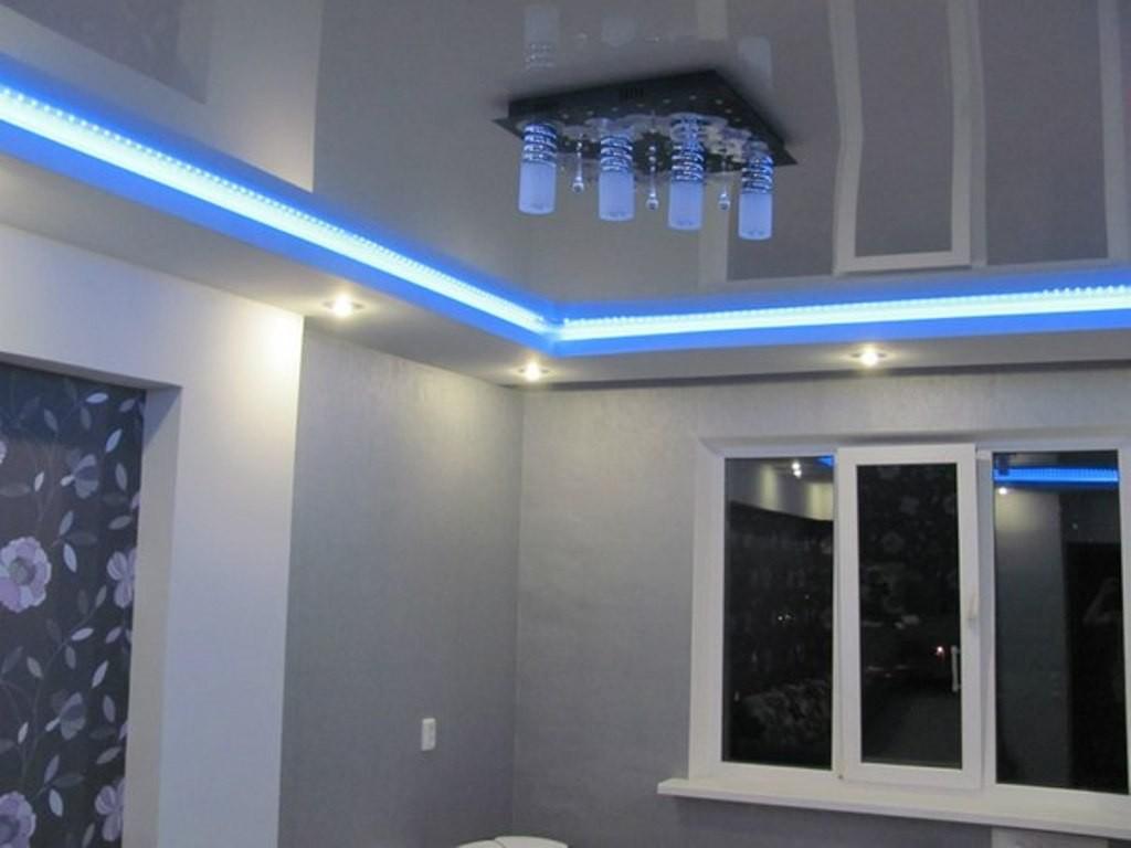 Диодная подсветка потолка - фото и видео инструкция по монтажу своими руками