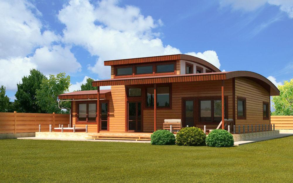 Строительство эко-дома своими руками: технологические принципы и схемы