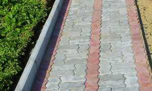 Пластиковые бордюры для тротуарной плитки