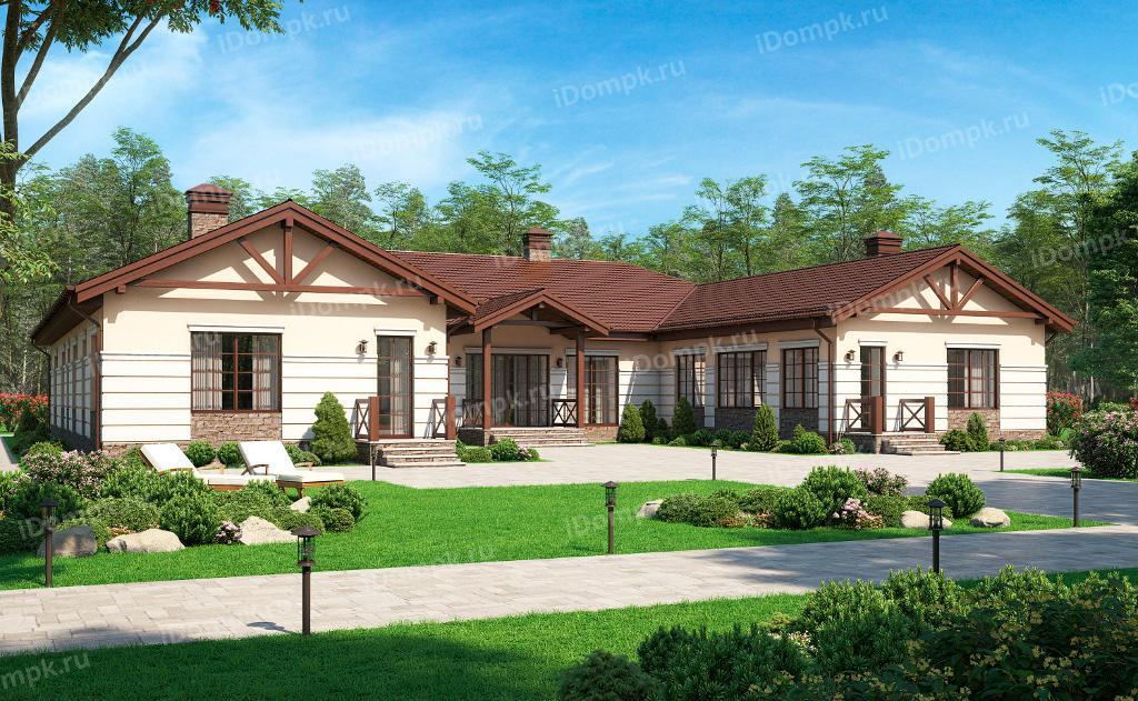 дом г образной формы
