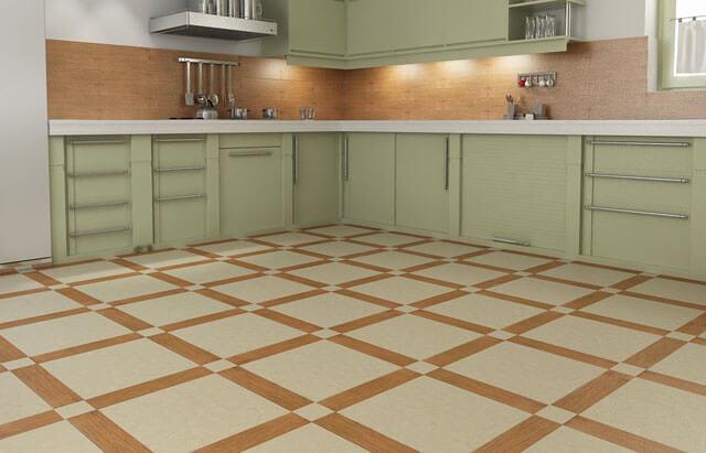 Какую плитку выбрать на пол на кухню: правила выбора напольной кухонной плитки