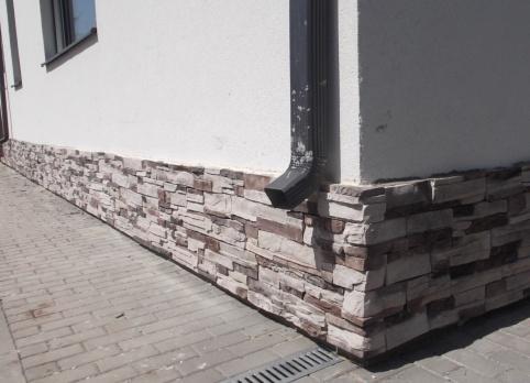 Цокольный сайдинг под камень (39 фото): размеры металлических листов для цоколя, импортный канадский сайдинг