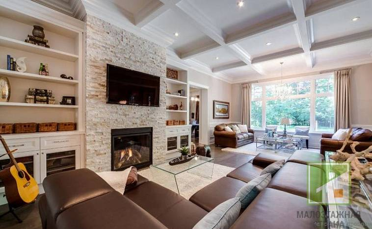 Гостиная в частном доме - 54 фото лучших дизайнерских идей дизайна