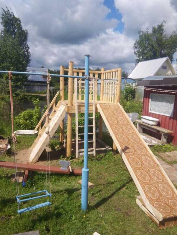 Детская горка своими руками (31 фото): идеи горок для детей на дачу. как сделать садовый домик со скатом на площадке?
