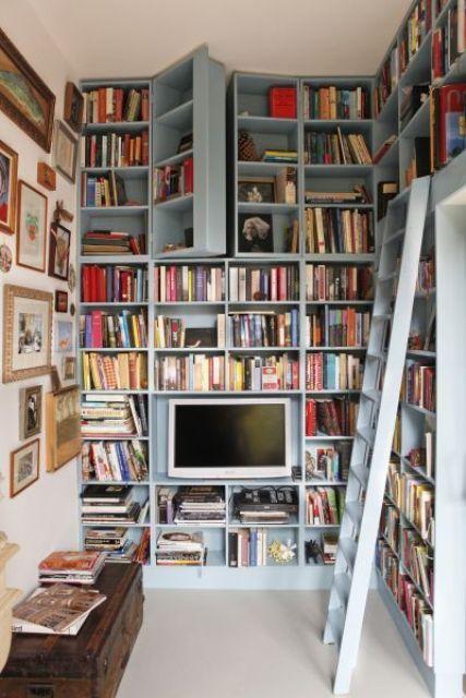 Как организовать домашнюю библиотеку?