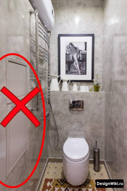 Отделка туалета и удобная организация пространства в нем