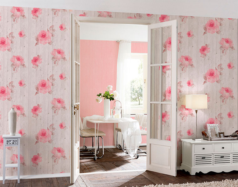 Нежно розовый цвет стен. как подобрать шторы, которые подойдут к розовым обоям