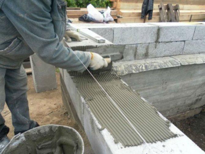 Полистиролбетон своими руками: изготовление полистиролбетонных блоков