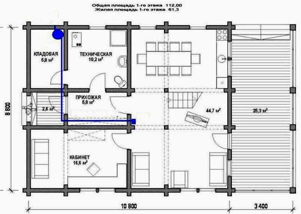 проекты небольших одноэтажных домов