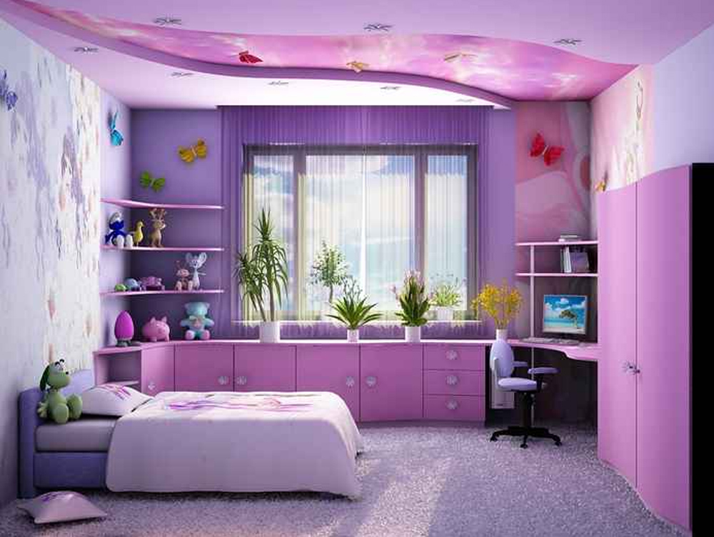 детская комната дизайн интерьера