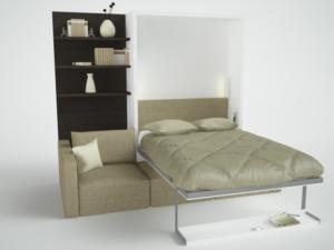 кровать шкаф трансформер икеа с диваном цена