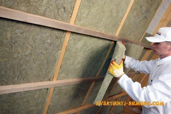 Пошаговая инструкция по утеплению стен минеральной ватой