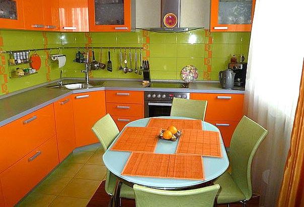 Сочетание оранжевого цвета с другими