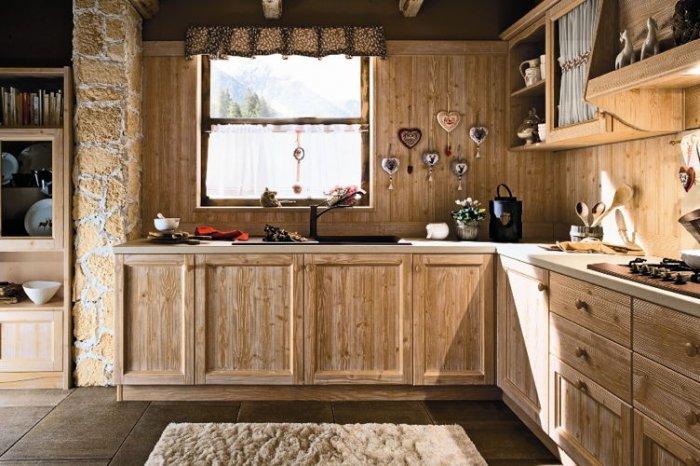 Кухня из дерева своими руками (210+ фото) - как сделать?