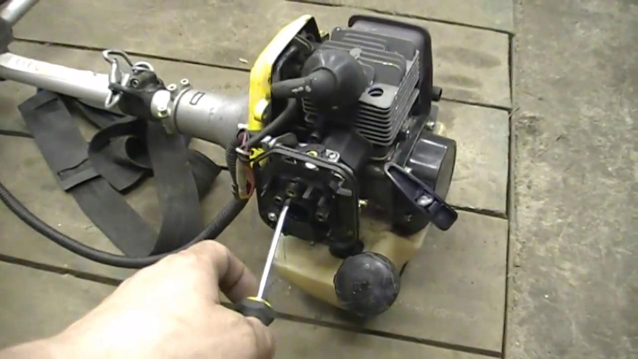 устройство карбюратора триммера бензинового