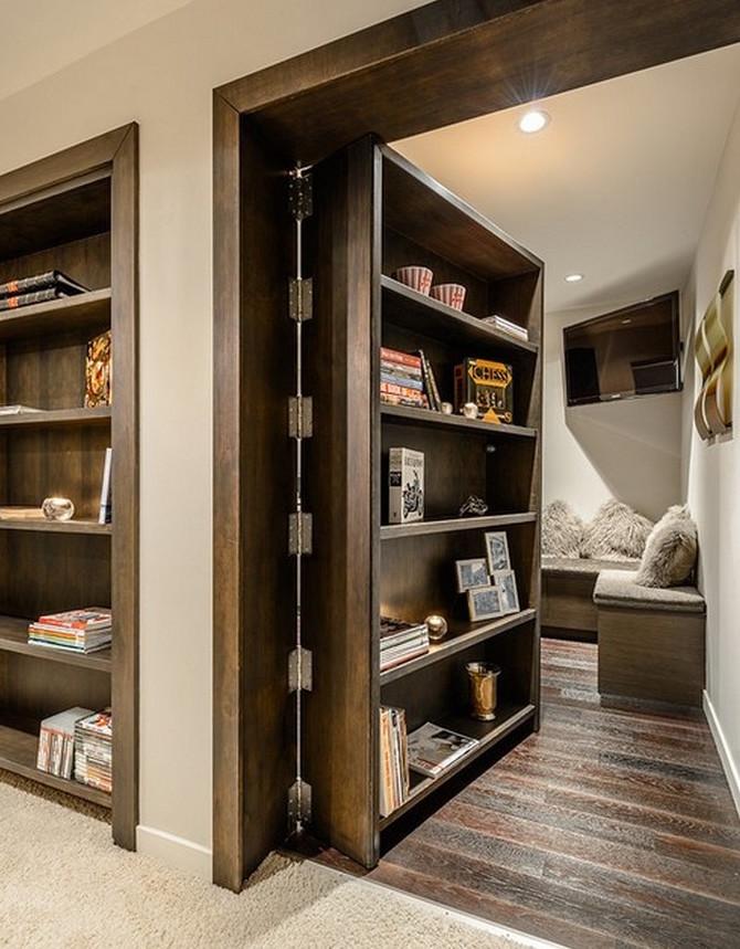Скрытые двери: потайные и невидимки, как сделать заподлицо своими руками, гардеробная комната в интерьере фото как сделать в квартире скрытые двери: 6 интересных вариантов – дизайн интерьера и ремонт квартиры своими руками