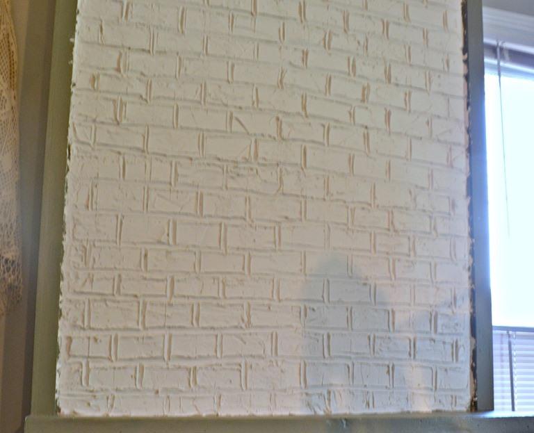 Имитация кирпичной стены своими руками - клуб мастеров