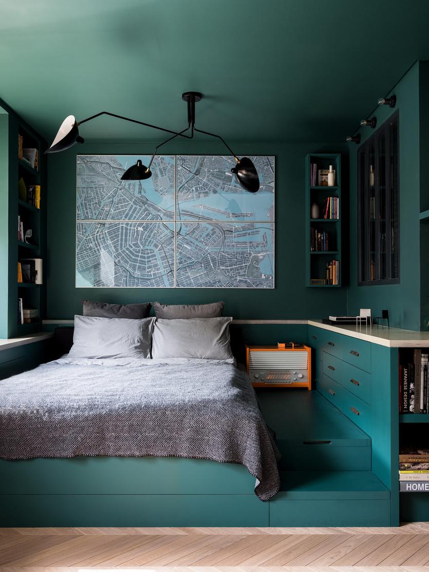 Правила оформления и выбора дизайна узкой спальни