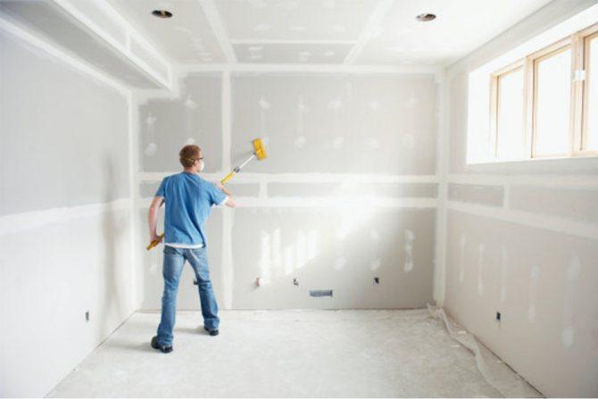 Правила грунтовки стен перед покраской