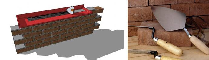 Как сделать имитацию кирпичной стены из готового материала или своими руками
