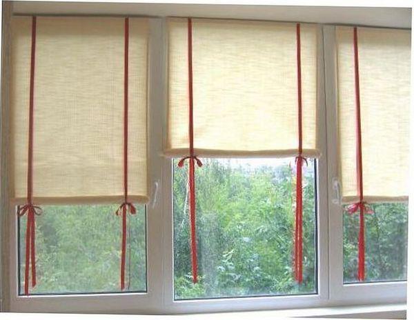 Римские шторы своими руками за 1 вечер: мастер-класс (фото)