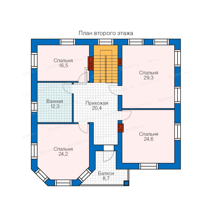 Проекты одноэтажных домов с 4 спальнями. проект одноэтажного дома с четырьмя спальнями – на что следует обратить внимание при выборе варианта
