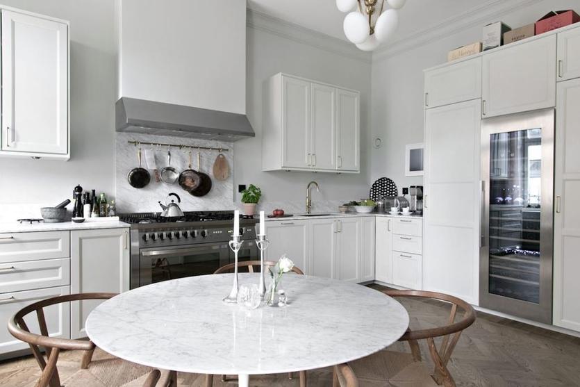 Кухня в скандинавском стиле: 100 фото идей и новинок - дизайн интерьера