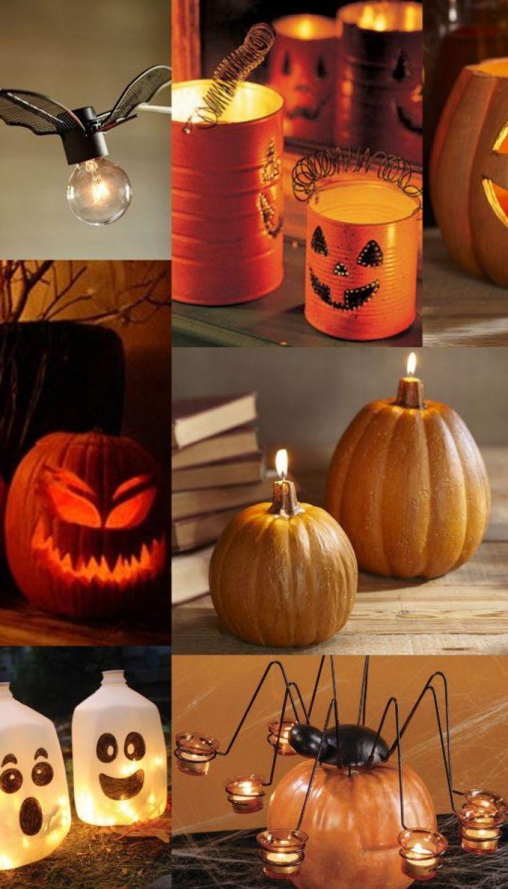 Декор на хэллоуин: украшения своими руками +50 фото идей