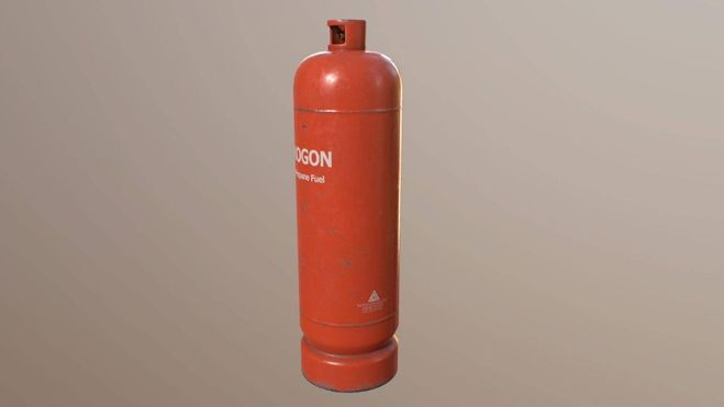 Сколько весит газовый баллон?