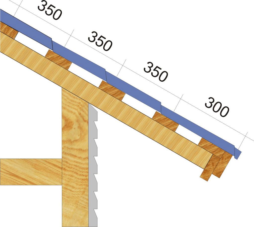 шаг обрешетки под металлочерепицу монтеррей доска 150