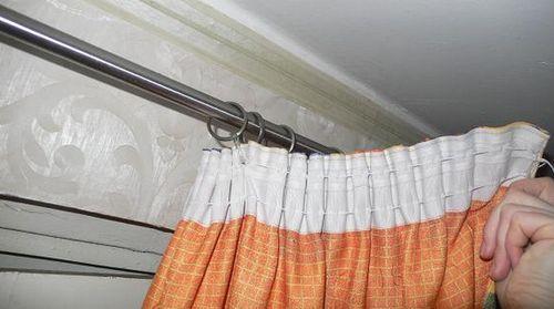 Как вешать шторы на шторной ленте
