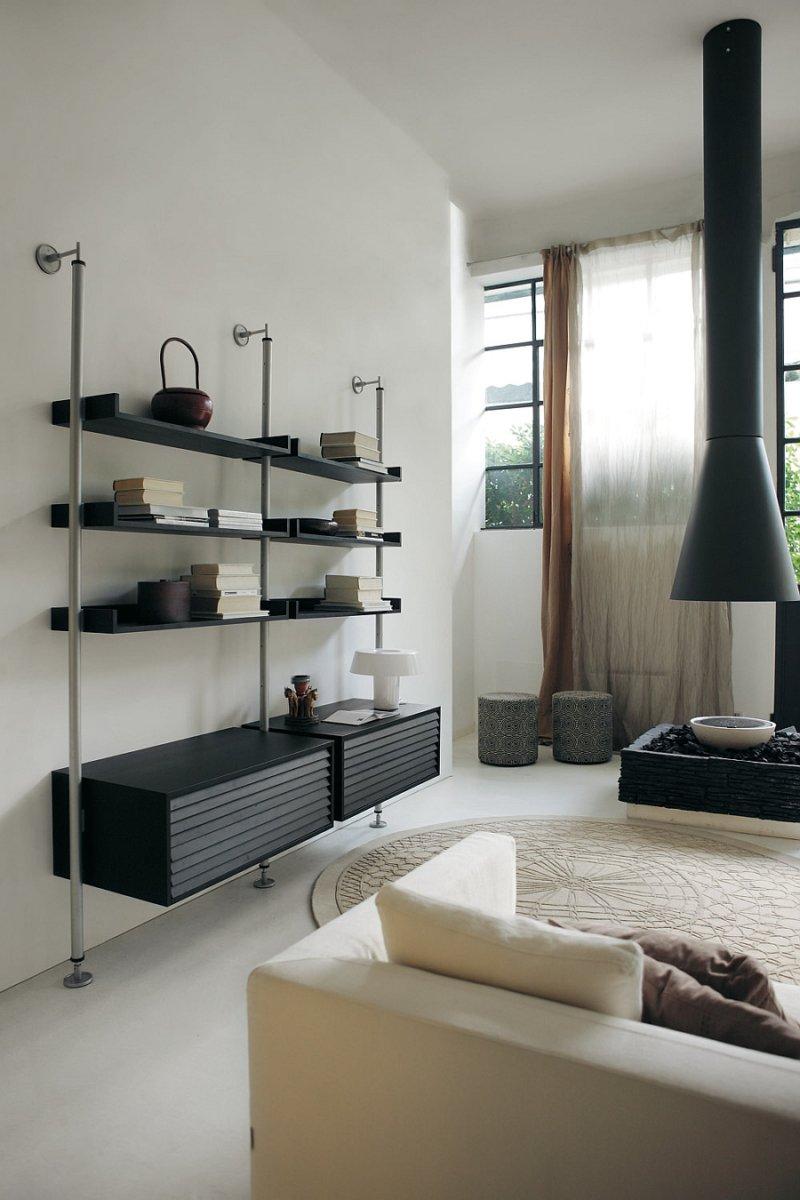 Гостиные шкафы в современном стиле: виды по форме, наполнению, что подобрать в зал