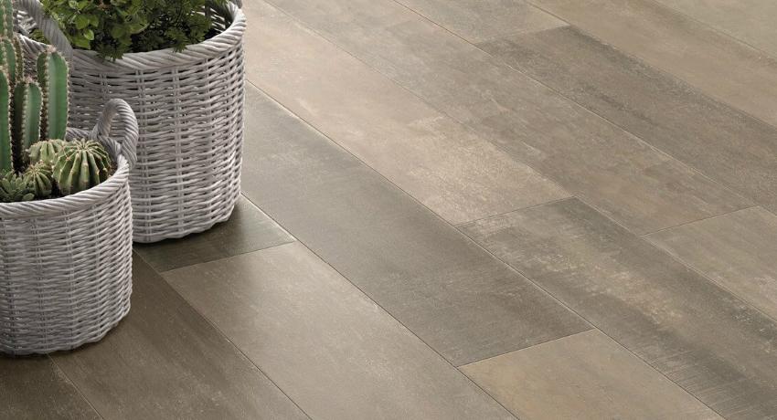 Плитка под ламинат: фото интерьеров - все про керамическую плитку