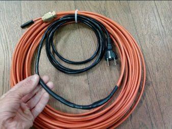 нагревающий кабель для водопровода