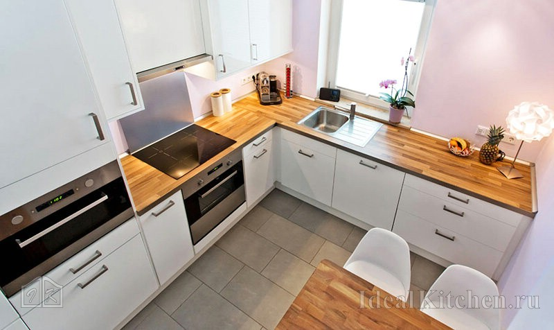 Угловые кухни: особенности проектирования и применения в дизайне интерьера (120 фото)