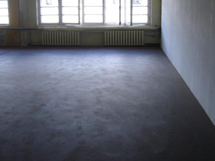 Делаем плавающую бетонную стяжку под плитку на деревянный пол