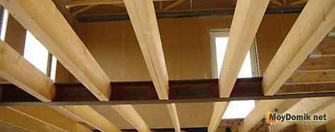 Изготовление деревянных двутавровых балок своими руками