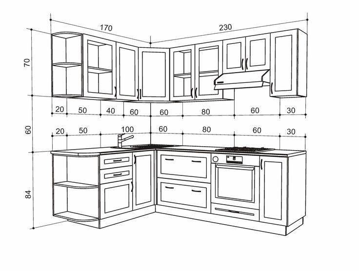 Глубина кухонных шкафов: нижние шкафчики для кухни 40-50 см, идеи хранения в глубоких подвесных шкафах