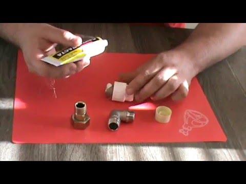 как наматывать лен на резьбу трубы