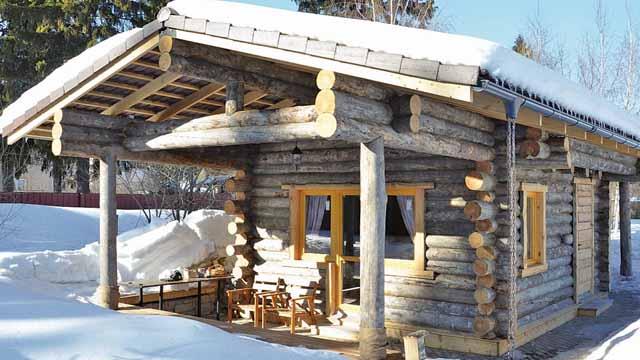 Уютная мини-баня: основных достоинств постройки