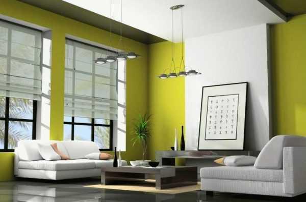 Использование зеленого дивана в современных интерьерах, цветовые дуэты