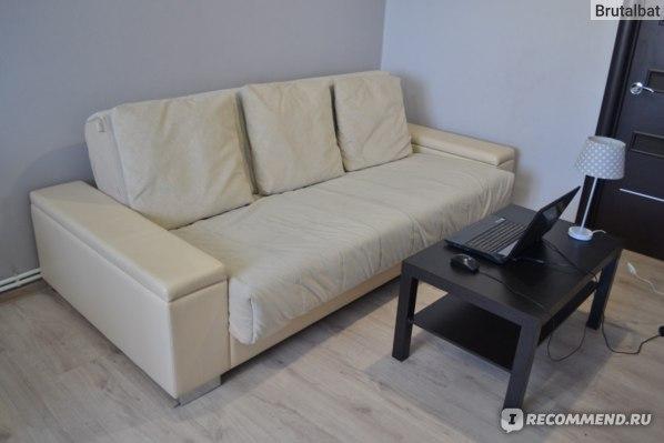 аскона диван кровать с ортопедическим матрасом
