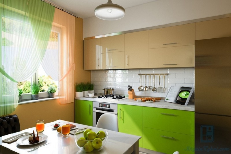 Тюль на кухню: 145+ (фото) дизайна коротких & длинных занавесок