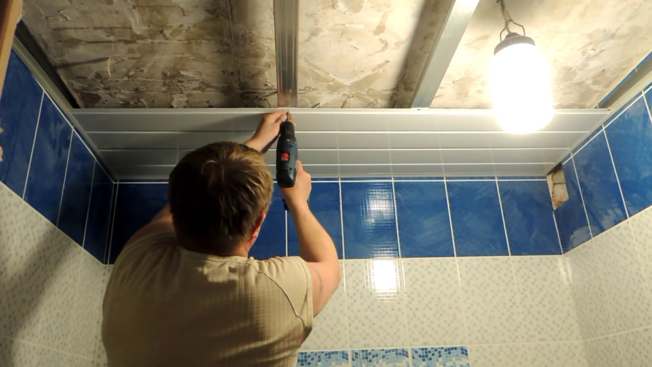 Как самому сделать потолок из пластиковых панелей: отделка, обшивка, ремонт