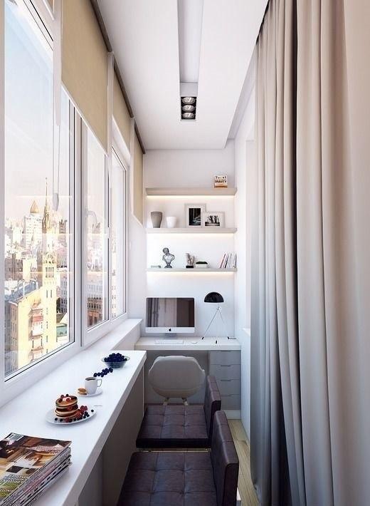 Как и чем отделать балкон