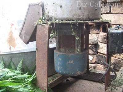 Как сделать садовый измельчитель из стиральной машинки