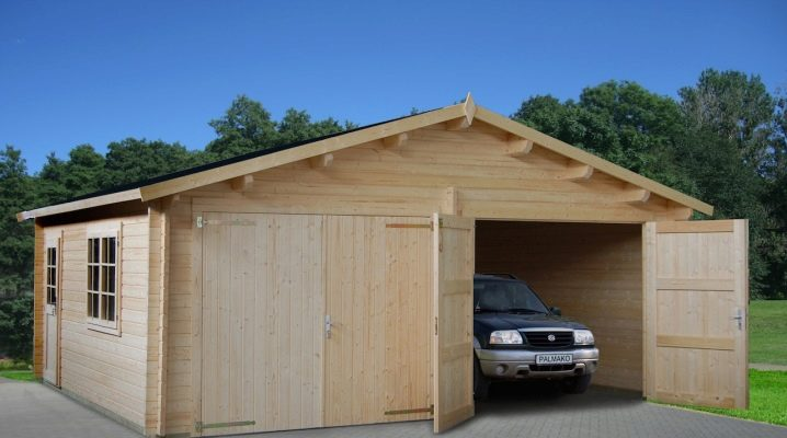 Гараж из бруса (33 фото): как построить деревянную конструкцию своими руками, варианты из дерева и досок, чертежи