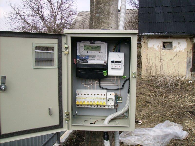 шкаф для счетчика электроэнергии уличный